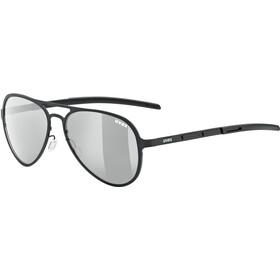 UVEX LGL 33 Pola Lunettes, black/silver